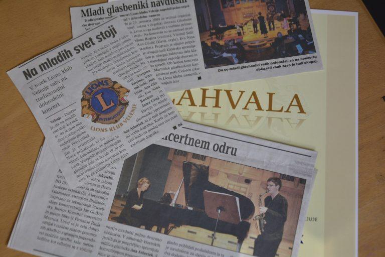 Zeitung Ausschnite - Lions Konzerte