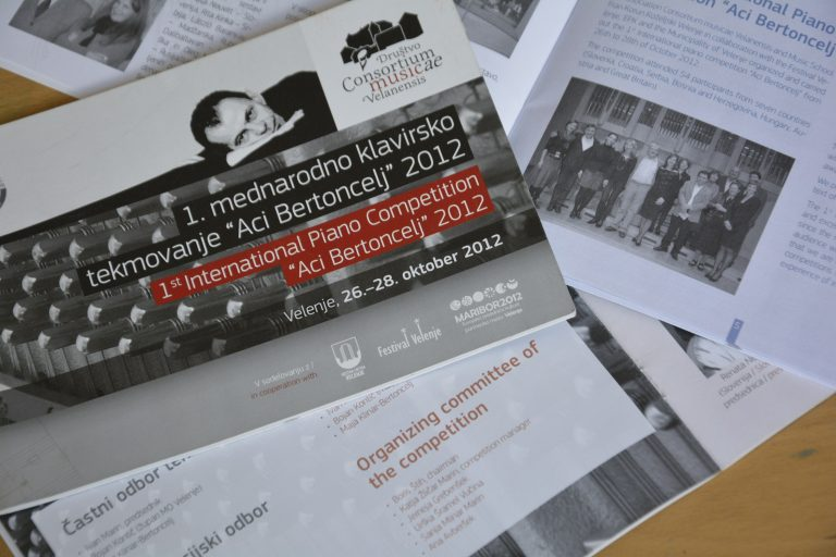 Aci Bertoncelj International Piano Competition