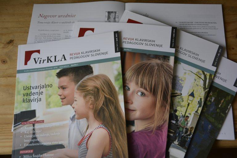 Virkla - Magazin der slowenische Klavierpädagogen